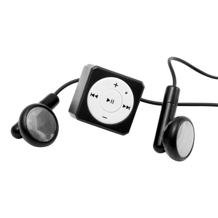 Technaxx Musicman Mini Style TX-52 Lecteur MP3 Noir