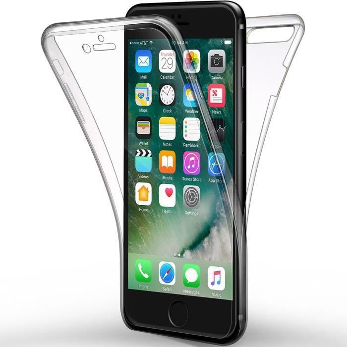 Coque iPhone 8 Plus transparente