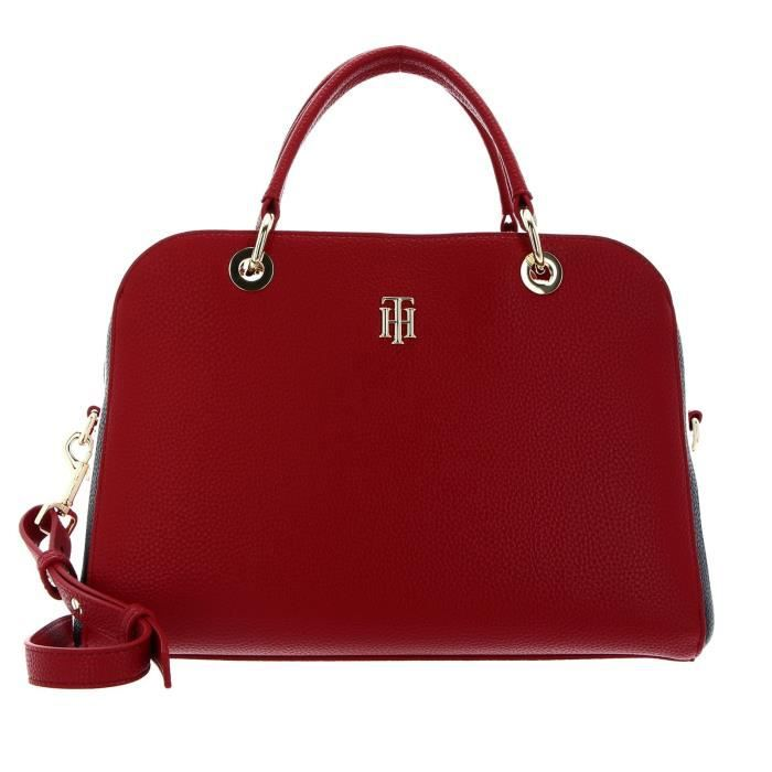 TOMMY HILFIGER TH Essence Duffle Bag Corp Arizona Red [113567]
