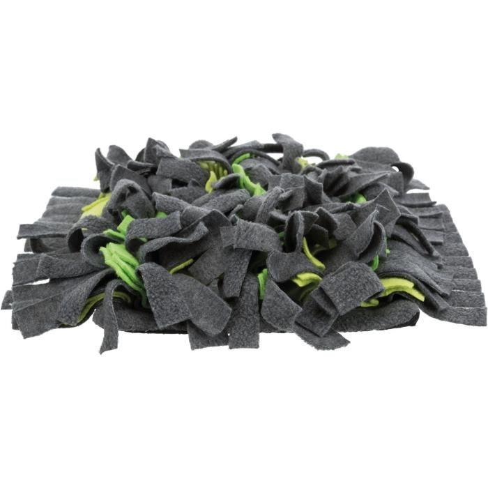 TRIXIE Tapis à renifler - 27 × 20 cm - Gris et vert - Pour lapin