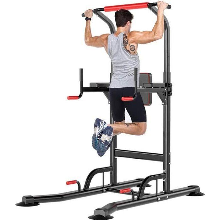 Barre de Tractions, Station Musculation, Réglables en Hauteur, Barre de Pullup pour l'entraînement à la Maison