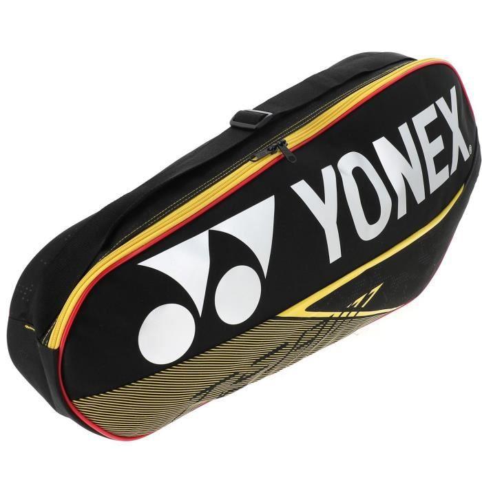 Sac de badminton Team racquet bag 3 blk - Yonex UNI Noir