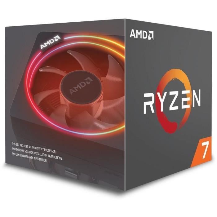 PROCESSEUR AMD Processeur Ryzen 7 2700 - ventiard Wraith Spir