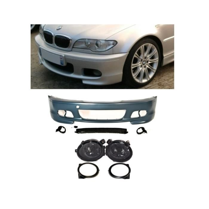 parechoc pack m m2 m3 bmw serie 3 e46 coupe et cabriolet 2 antibrouillard achat vente kit. Black Bedroom Furniture Sets. Home Design Ideas