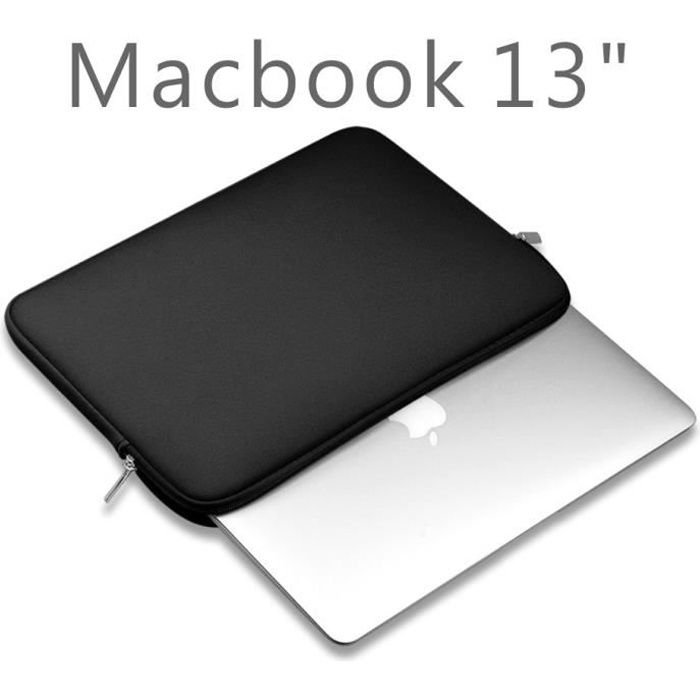 Housse pour Pochette pour 13 Pouces Macbook air//Pro Retina//Ordinateur Portable,Gris Clair