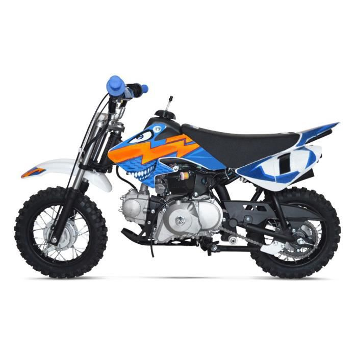 moto enfant 50 cm3 dirt bike pit 50 bleu achat vente moto moto enfant 50 cm3 dirt b. Black Bedroom Furniture Sets. Home Design Ideas