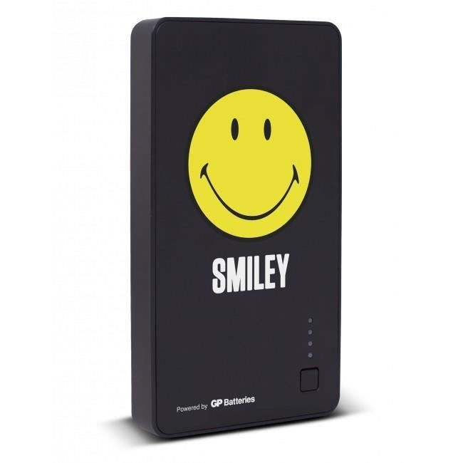 BATTERIE APPAREIL PHOTO Batterie de secours Noir Smiley 5 200 mAh - GP Bat