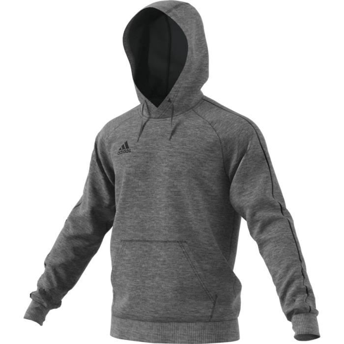 adidas core 18 hoody sweat shirt homme