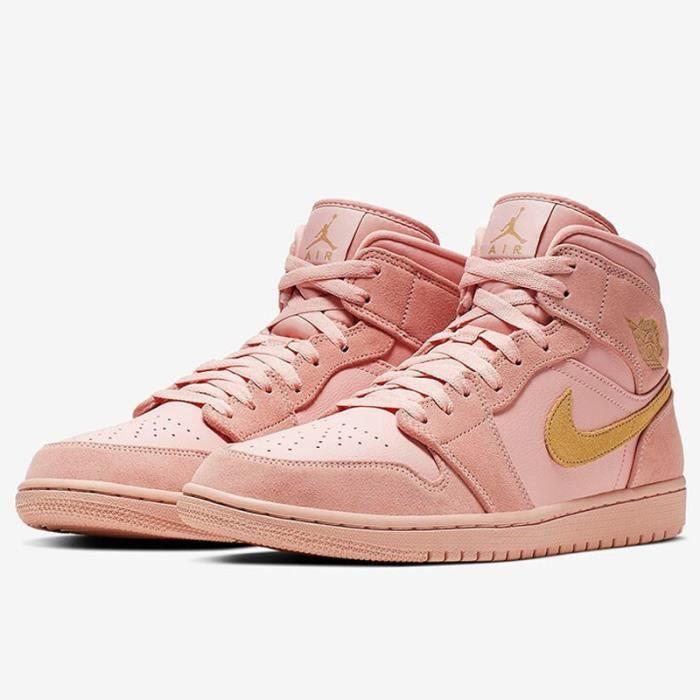 Air Jordans 1 Mid Chaussures de Basket Air Jordans One Pas ...