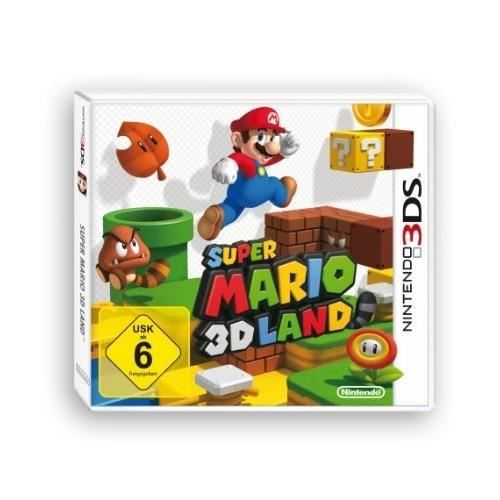 super mario 3d land import allemand jeu 3ds achat vente jeu 3ds super mario 3d land. Black Bedroom Furniture Sets. Home Design Ideas