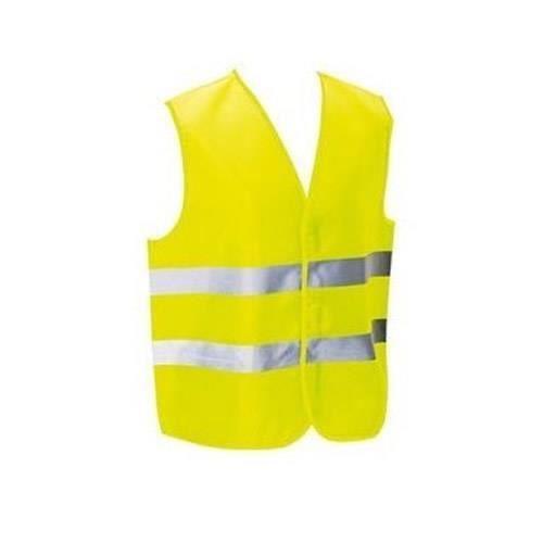 Gilet de Securite Jaune pour Enfant G/én/érique 176 Route V/élo 3 /à 12 Ans