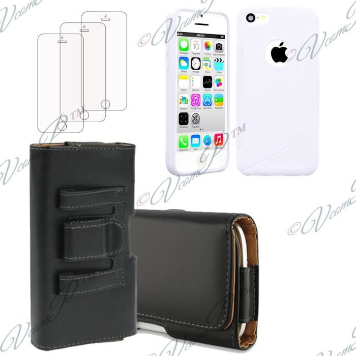 apple iphone 5c lot 5 accessoires achat vente apple iphone 5c lot 5 acce cdiscount. Black Bedroom Furniture Sets. Home Design Ideas