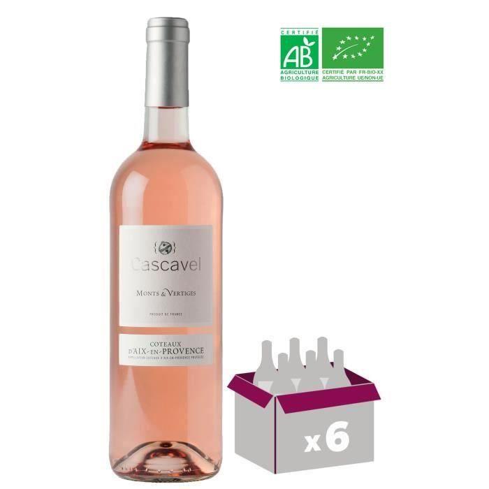 Cascavel Monts Et Vertiges Bio 2018 Coteaux d'Aix-en-Provence - Vin Rosé de Provence