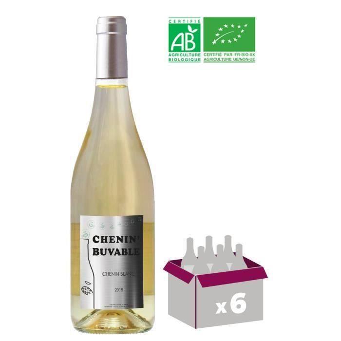 Chenin blanc Buvable 2018 Anjou - Vin de Loire