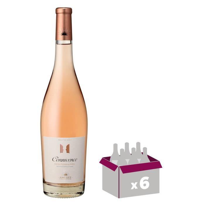 Connivence 2019 IGP Méditerranée - Vin rosé