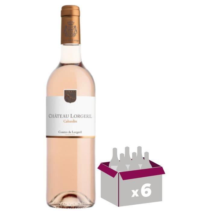 Château Lorgeril 2018 Cabardès - Vin rosé du Languedoc Roussillon