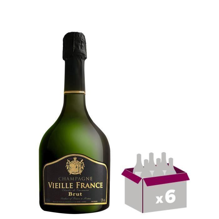 GH MARTEL Vieille France Champagne Brut - Blanc - 75 cl x 6