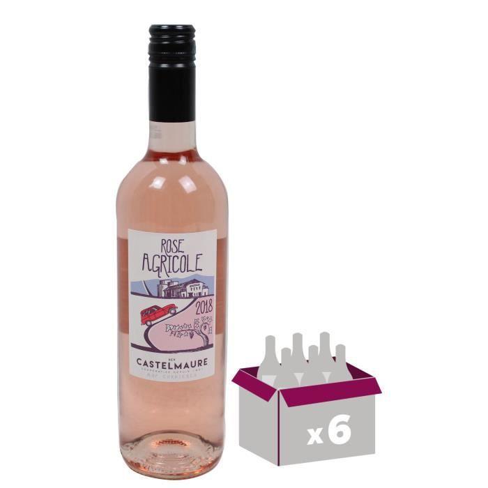Rose Agricole 2018 Corbières - Vin rouge du Languedoc