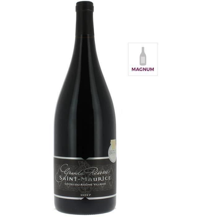 Magnum Cave Saint-Maurice 2018 Côtes-du-Rhône Villages - Vin rouge de la Vallée du Rhône