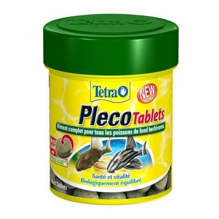 TETRA Pleco Tablets pour poisson exotique 2 x 66ml