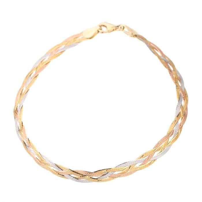 LES BIJOUX D'EMMA Bracelet Or Tricolore 375° Femme