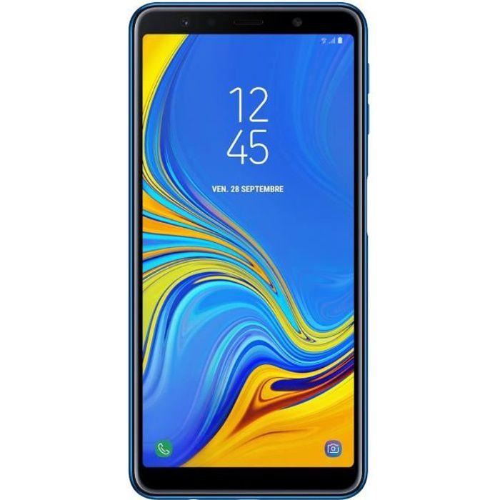 SMARTPHONE Samsung Galaxy A7 2018 64 go Bleu - Double sim