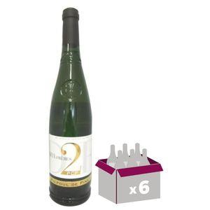 VIN BLANC Domaine des 2 Frères 2015 Picpoul de Pinet - Vin b