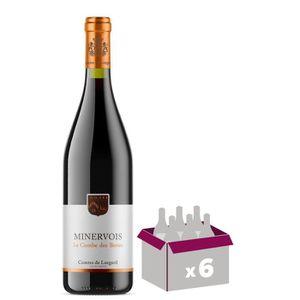 VIN ROUGE La Combe des Bories 2018 Minervois - Vin rouge du