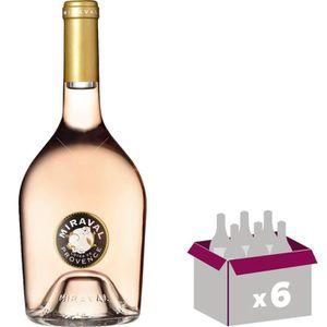 VIN ROSÉ Miraval 2018  Côtes de Provence - Vin rosé de Prov