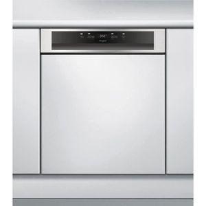 LAVE-VAISSELLE WHIRLPOOL WBC3B18X - Lave vaisselle encastrable -