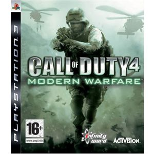 JEU PS3 CALL OF DUTY 4 MODERN WARFARE / Jeu console PS3