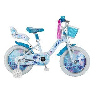 VÉLO ENFANT Vélo Enfant Fille Ice Fairy 16 Pouces Blanc avec P