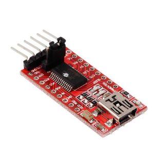 5V 3.3V FTDI FT232RL USB to TTL Serial Converter Adapter Module For Arduino LE