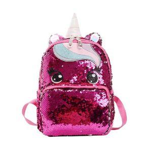 SAC À DOS Sac A Dos I7ZD6 Glitter Unicorn Sac à dos école de