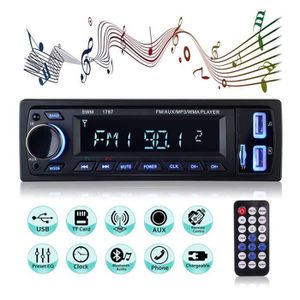 AUTORADIO MEKUULA Autoradio Bluetooth de Voiture Stéréo Vidé