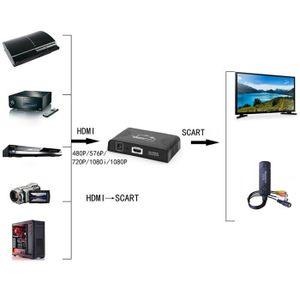 CÂBLE TV - VIDÉO - SON NK-C9 1080P HDMI vers convertisseur de convertisse