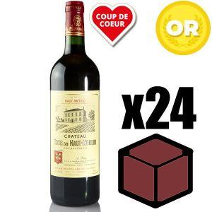 VIN ROUGE X24 Château Tour du Haut Moulin 2014 75 cl AOC Hau