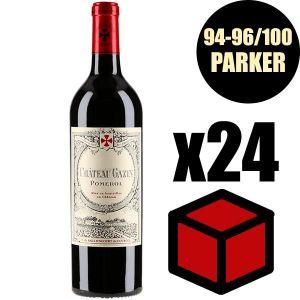 VIN ROUGE X18 Château Gazin 2016 75 cl AOC Pomerol  Vin Roug