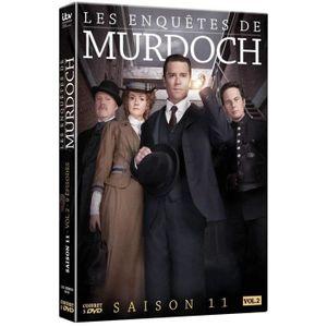 DVD SÉRIE Les Enquêtes de Murdoch - Intégrale saison 11 - Vo