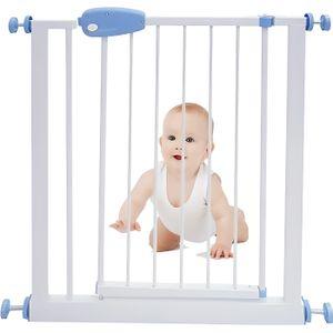 BARRIÈRE DE SÉCURITÉ  Barrière de sécurité enfant acier 74 à 87 cm