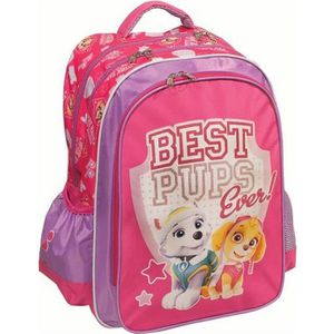 CARTABLE Sac à dos Pat Patrouille Best Pups Fille 43 CM - P