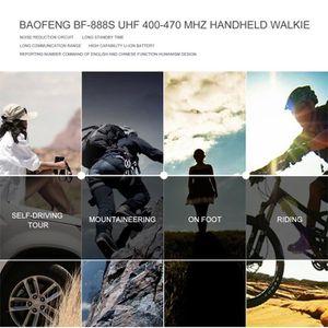 TALKIE-WALKIE Baofeng BF-888S UHF 400-470 MHz Walkie Talkie 2 vo