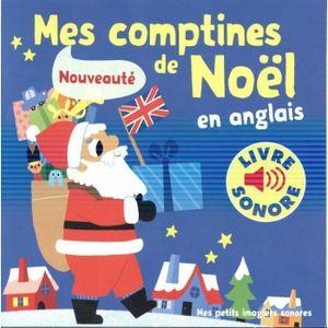 LIVRE LOISIRS CRÉATIFS Livre - Mes Comptines De Noel En Anglais