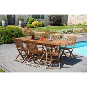Table de jardin en bois - Achat / Vente Table de jardin en ...