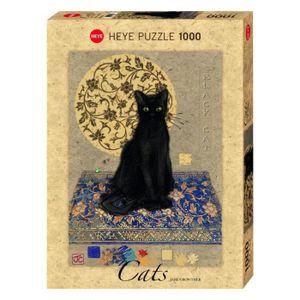 PUZZLE MERCIER Puzzle 1000 pièces Black Cat Jane Crowther