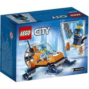 ASSEMBLAGE CONSTRUCTION LEGO® City 60190  L'Aéroglisseur Arctique