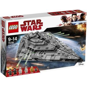 ASSEMBLAGE CONSTRUCTION LEGO® Star Wars™ 75190 First Order Star Destroyer™