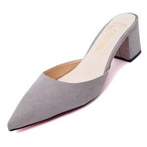 SANDALE - NU-PIEDS New Pantoufles Summer Femme Sandales Casual Sandal