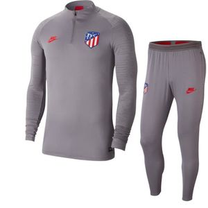 TENUE DE FOOTBALL ENSEMBLE NEWS TRAINING ATLETICO MADRID GRIS ADULTE
