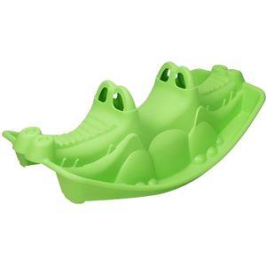 JOUET À BASCULE PARADISO Bascule crocodile vert 1m